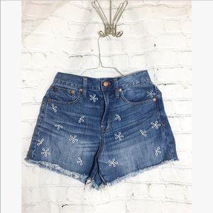 Madewell • Daisy • Jean mini shorts